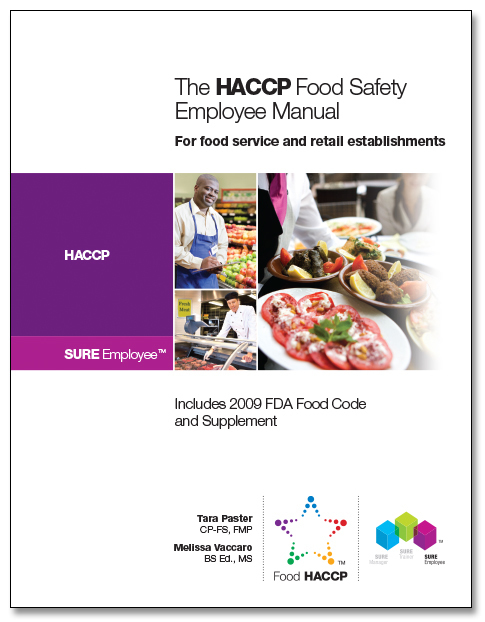 SURE™ HACCP Food Safety Employee Manual 00122