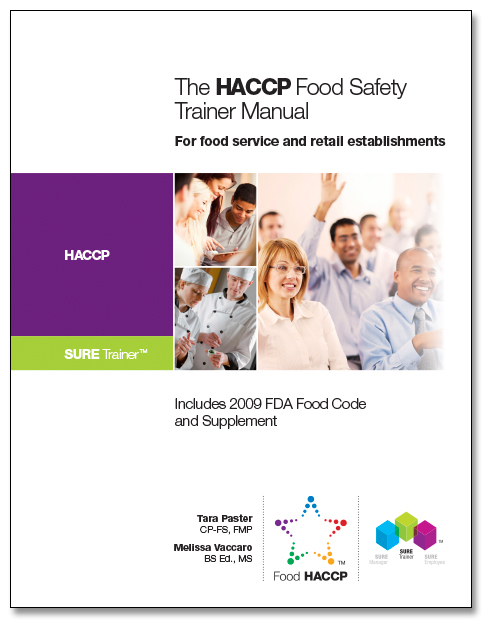 SURE™  HACCP Food Safety Trainer Manual 00124