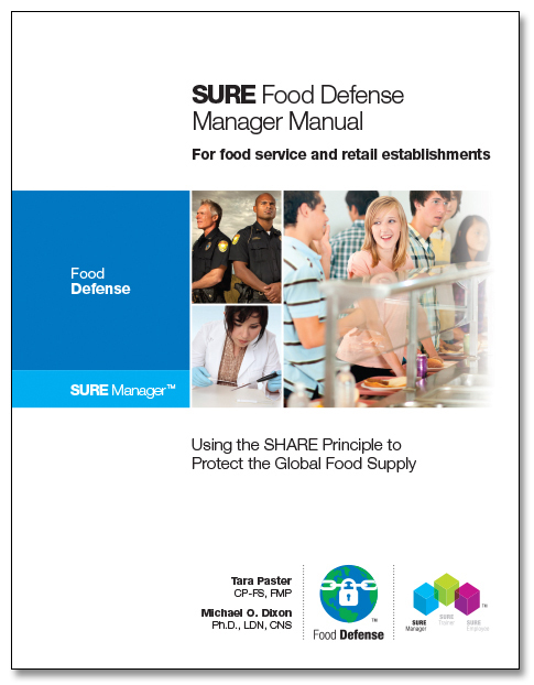 SURE™ Food Defense Manager Manual 00125
