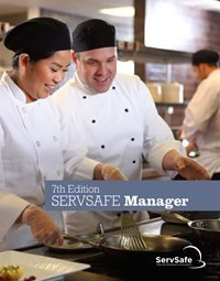 ServSafe® Manager Book w/ Scantron Answer Sheet 00008