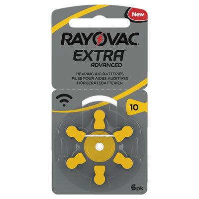 Rayovac 10 Gul - 30 batterier. Fritt levert 013