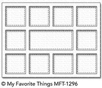 My favorite things HORIZONTAL COLLAGE COVER-UP Die