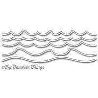My favorite things OCEAN WAVES Die set