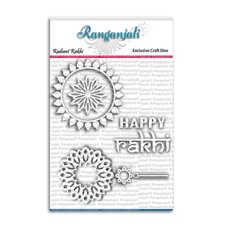 Ranganjali RADIANT RAKHI Exclusive Craft Die Set