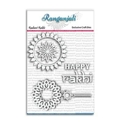 Ranganjali RADIANT RAKHI Exclusive Craft Die Set