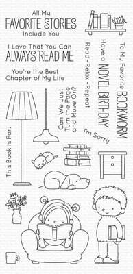 My Favorite Things OUR STORY Clear Stamp Set