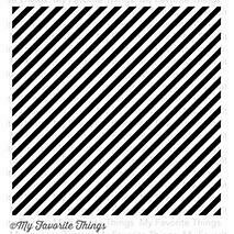 My Favorite Things BOLD DIAGONAL STRIPES BACKGROUND Stamp