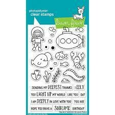 Lawn Fawn YOU ARE SUBLIME Clear Stamp Set