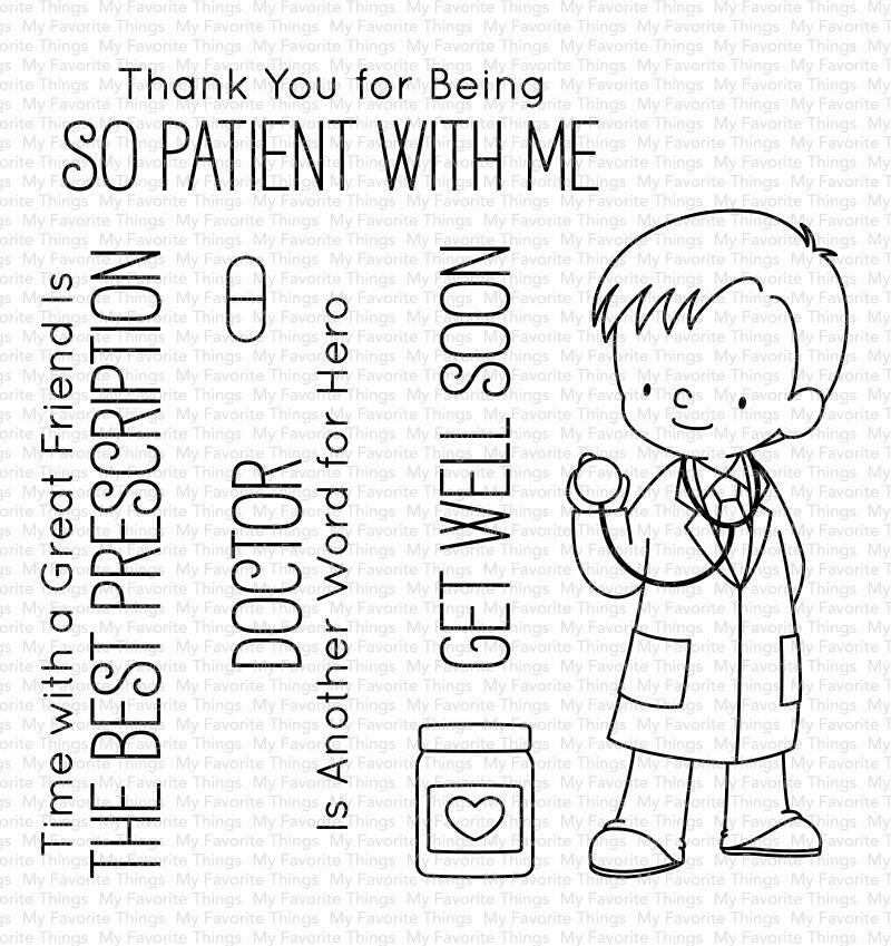 My Favorite Things BB BEDSIDE MANNER Clear Stamp Set