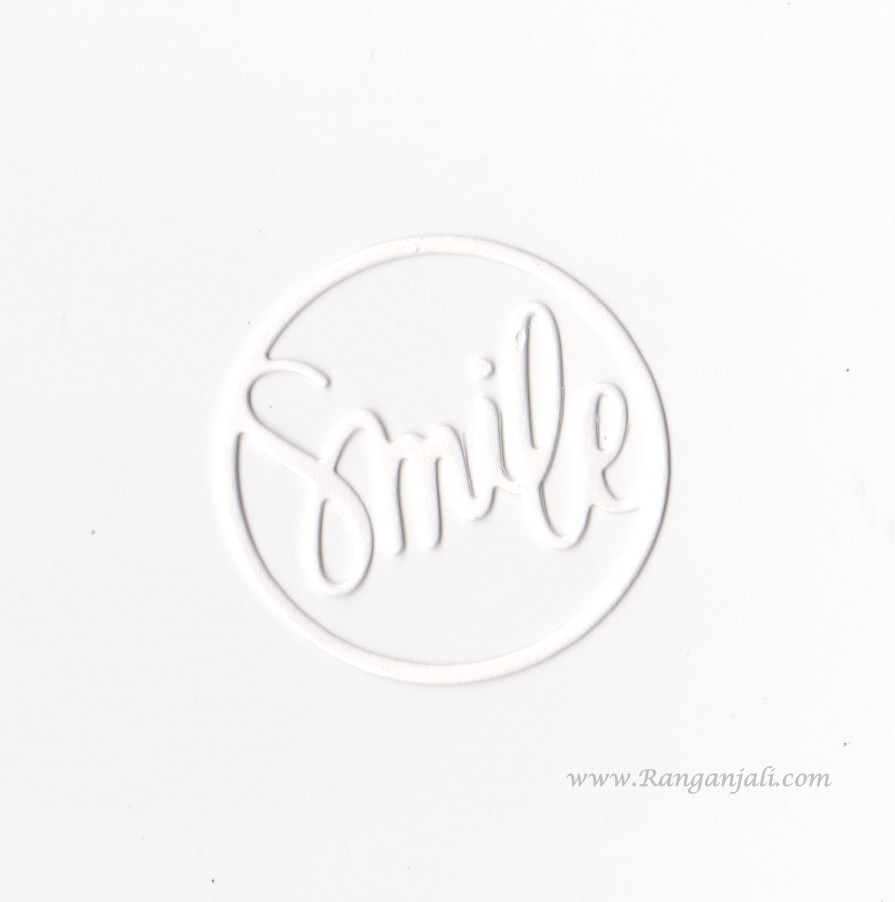 Simon Says Stamp SMILE CIRCLE Wafer Thin Die