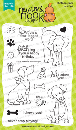 Newton's Nook FETCHING FRIENDSHIP Clear Stamp Set