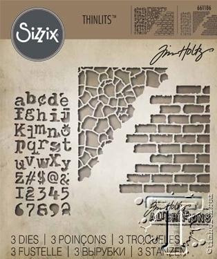 Sizzix THINLITS - MIXED MEDIA #3