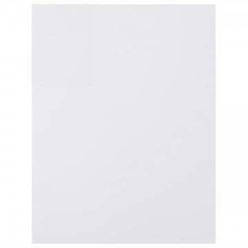 Foamies Sheet WHITE 2mm 9x12in - 1pc
