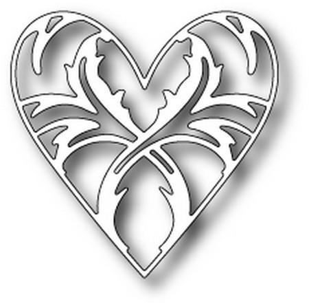 Memory box ENCHANTED HEART Die