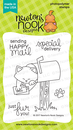 Newton's Nook NEWTON'S HAPPY MAIL Clear Stamp Set