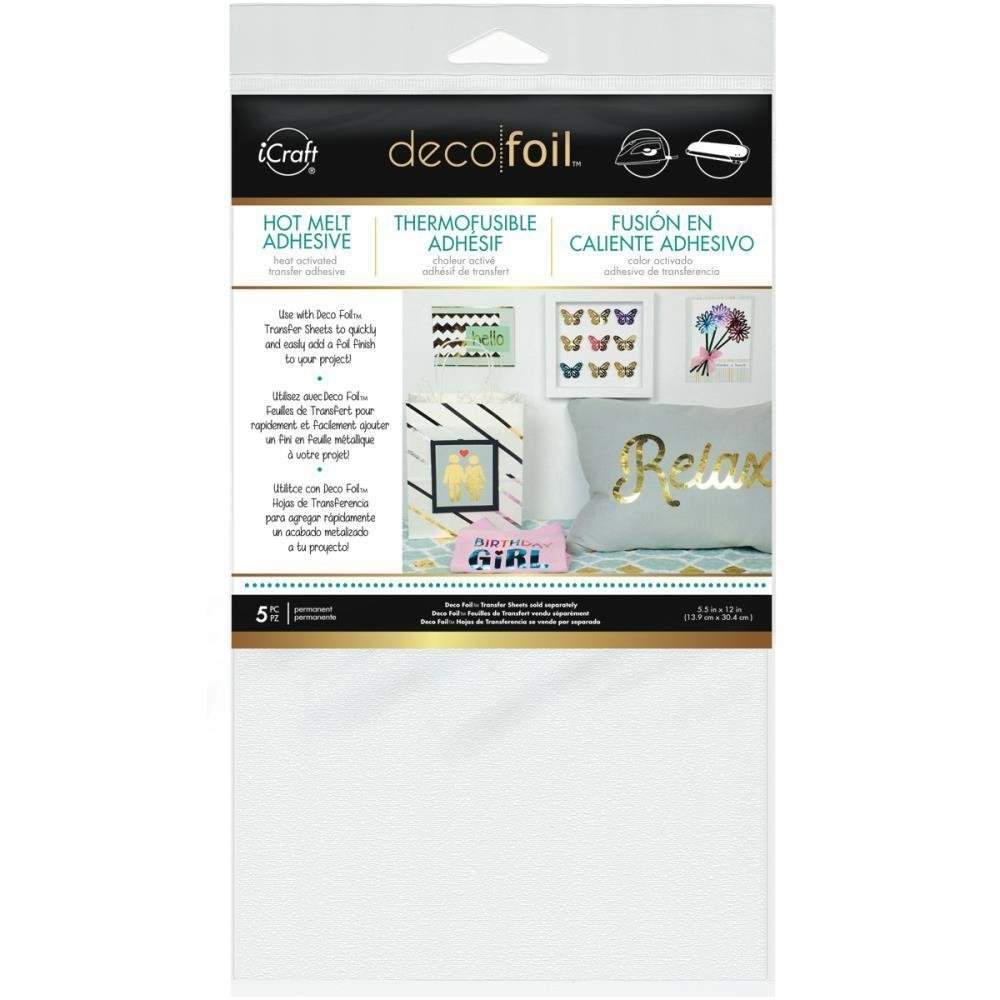Thermoweb IRON-ON Adhesive Deco Foil Transfer Sheet
