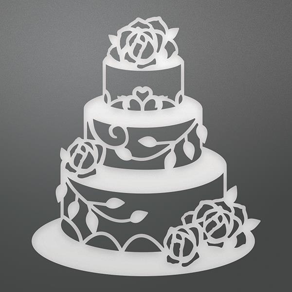 Ultimate Craft WEDDING CAKE Die