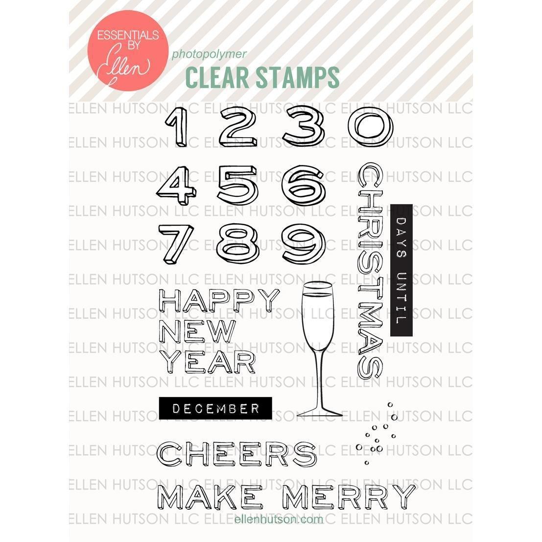 Essentials by Ellen ADVENT Clear Stamp Set