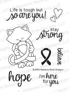 Newton's Nook NEWTON'S SUPPORT Clear Stamp Set