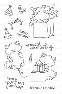 Newton's Nook NEWTON'S BIRTHDAY BASH Clear Stamp Set