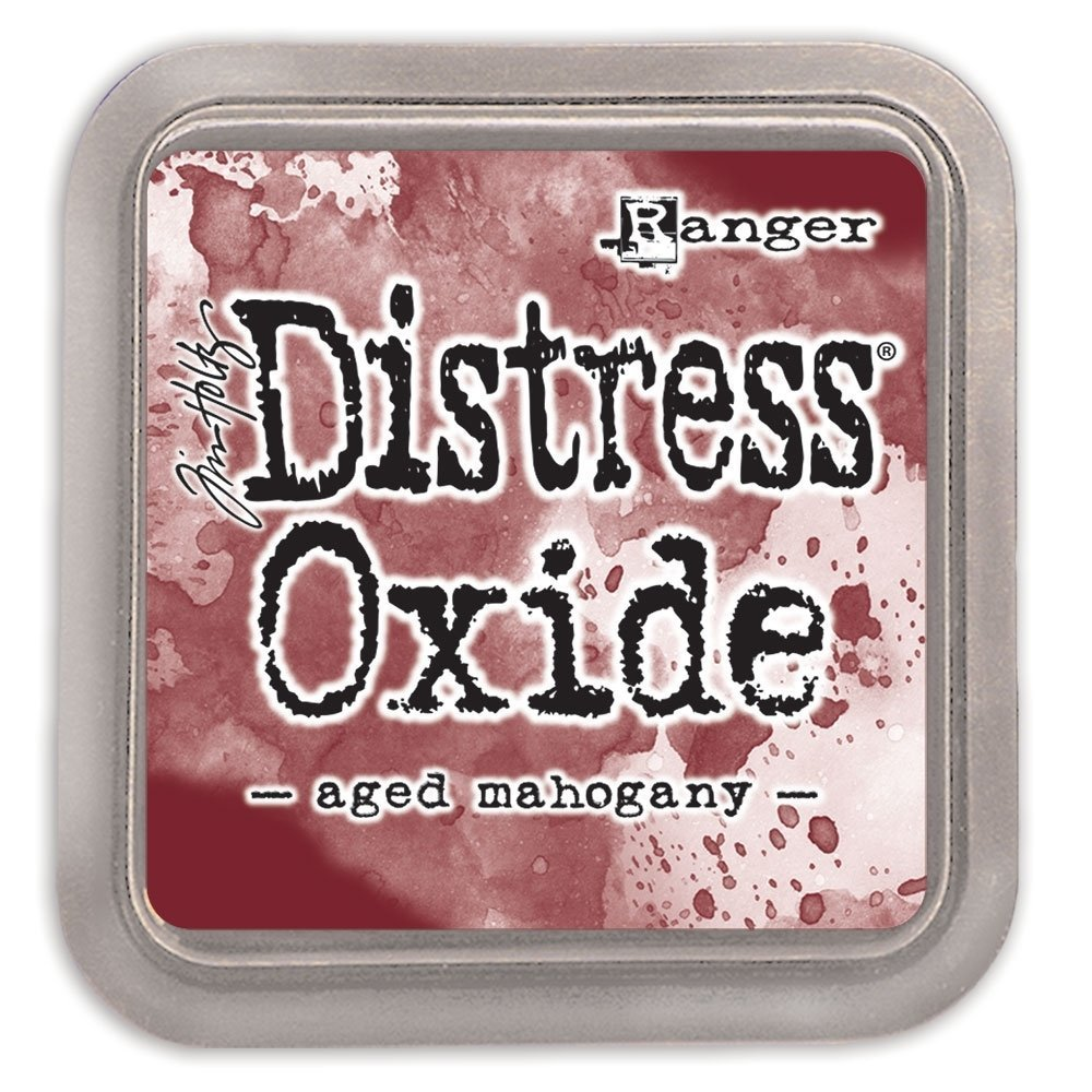 Tim Holtz AGED MAHOGANY Distress Oxide Ink Pad