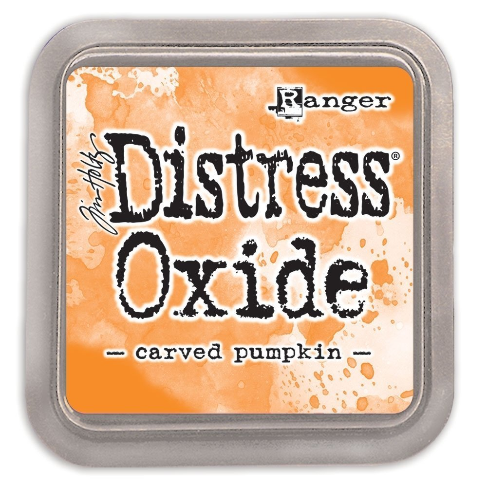 Tim Holtz CARVED PUMPKIN Distress Oxide Ink Pad