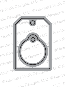 Newton's Nook Designs TAGS TIMES TWO Die Set