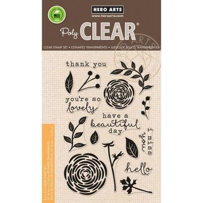 Hero Arts SO LOVELY Clear Stamp Set