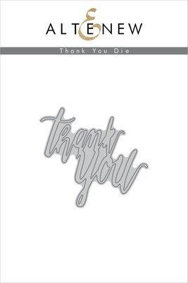 Altenew THANK YOU Die