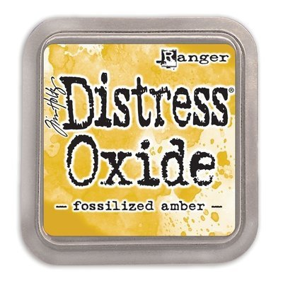 Tim Holtz FOSSILIZED AMBER Distress Oxide Pad