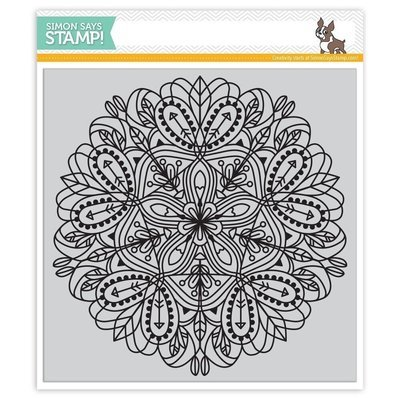 Simon Says Stamp EMMA Cling Rubber Stamp