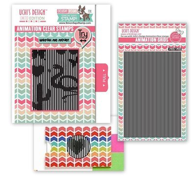 SSS Uchi's Design ANIMATION Clear Stamp Set Bundle
