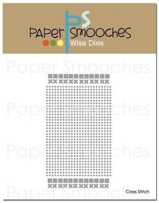 Paper Smooches CROSS STITCH Die Set