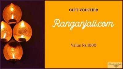 Ranganjali GIFT VOUCHER- Rs.1000