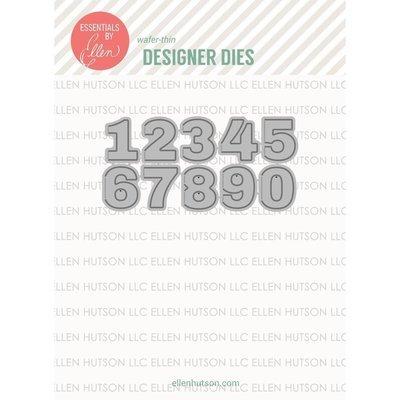 Essentials By Ellen HINGED NUMBERS Designer Die