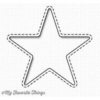 My Favorite Things STITCHED STAR PEEK-A-BOO WINDOW Die-namics Die
