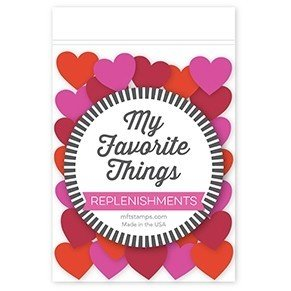 My Favorite Things MIXED HEART PIECES Shaker Embellishments