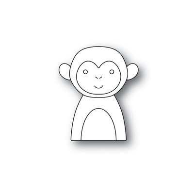 Simon Says Stamp  PICTURE BOOK MONKEY Die