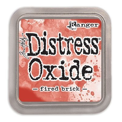 Tim Holtz FIRED BRICK Distress Oxide Ink Pad