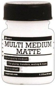Ranger Ink MINI MULTI MEDIUM MATTE Glue Adhesive 1oz