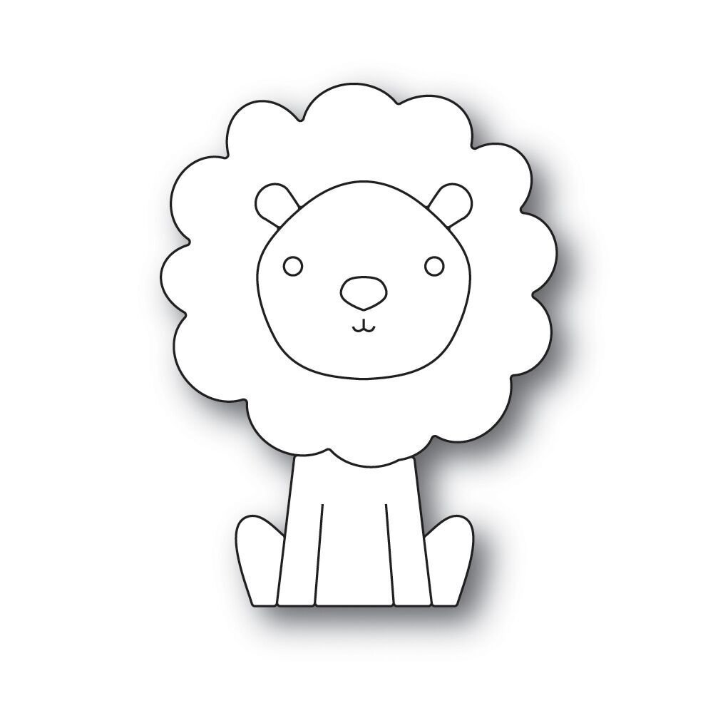 Simon Says Stamp PICTURE BOOK LION Die