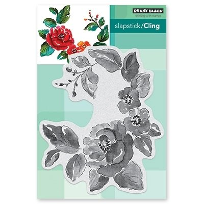 Penny Black GARDEN GEMS Cling Stamp