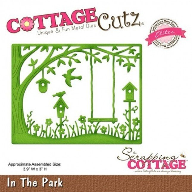 CottageCutz IN THE PARK Die