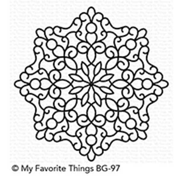 My Favorite Things MAGICAL MANDALA Background Stamp