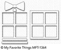 My Favorite Things GIFT SHAKER WINDOW & FRAME Die-Namics Dies