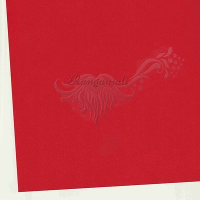 ROMA RED - 250GSM Heavyweight Smooth A4 Cardstock- 5/pk