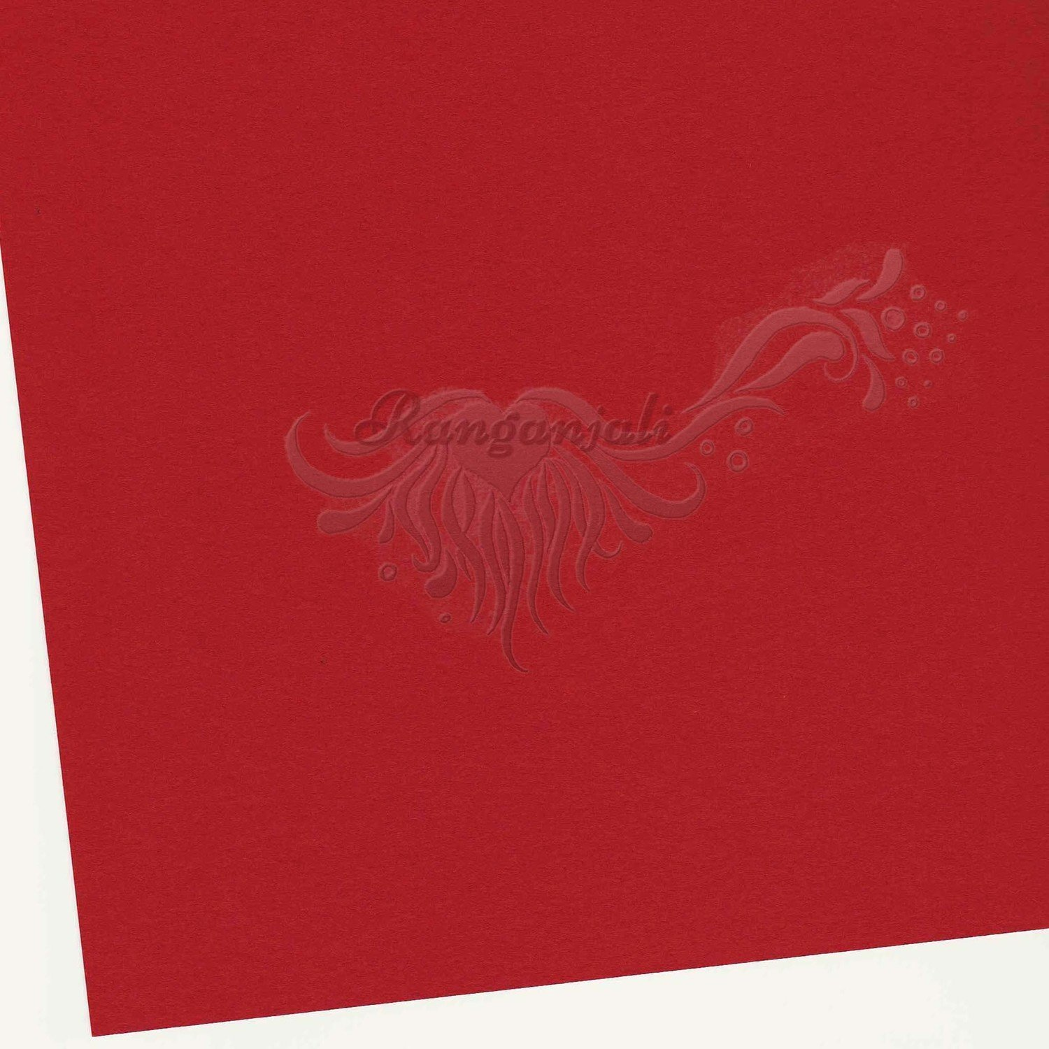 RICHMOND RED - 250GSM Heavyweight Smooth A4 Cardstock- 5/pk
