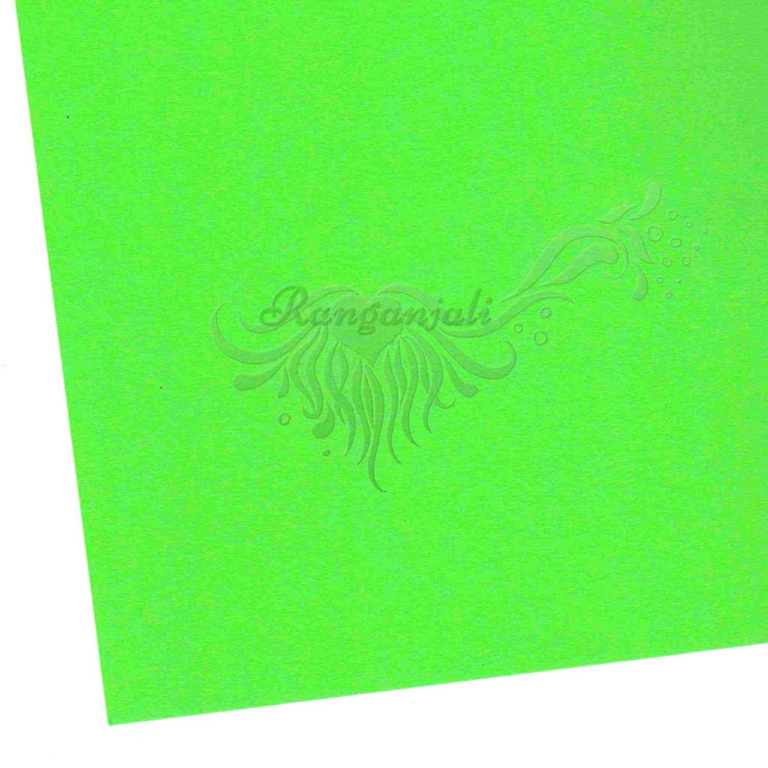 GANGNEUNG GREEN - 250GSM Heavyweight Smooth A4 Cardstock- 5/pk