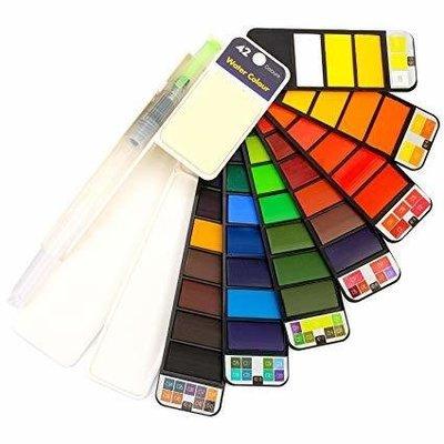 Professional TRAVEL Watercolor Set- 42