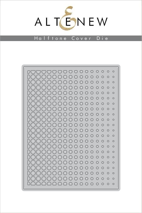 Altenew HALFTONE COVER Die